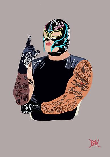 Rey Mysterio - Faceless Artwork