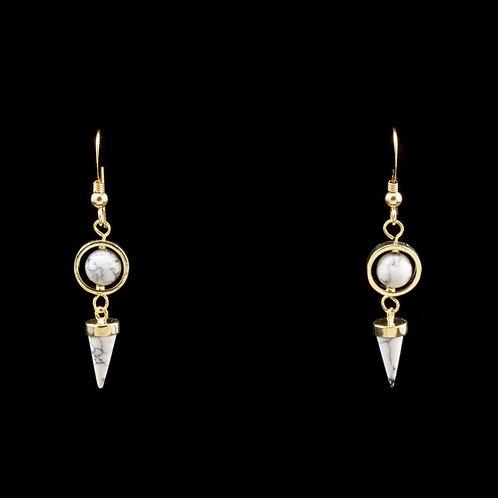 Omphalos Earrings