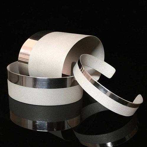 Sterling Linea Cuff | Modern Artifacts | Handmade Jewelry | Houston TX | Modern | Luxe