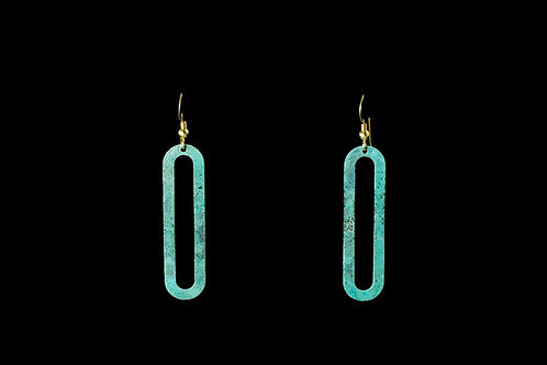 Cartouche Earrings