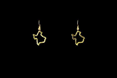 Texas Outline Earrings