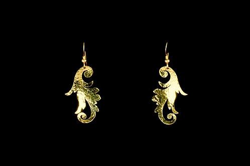 Scroll Earrings | Modern Artifacts | Handmade Jewelry | Houston TX | Boho