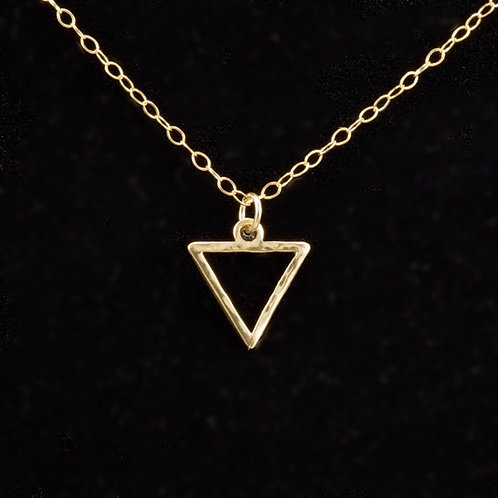 Mini Open Triangulum Necklace