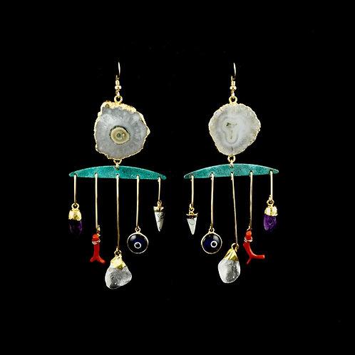 Amulet Earrings