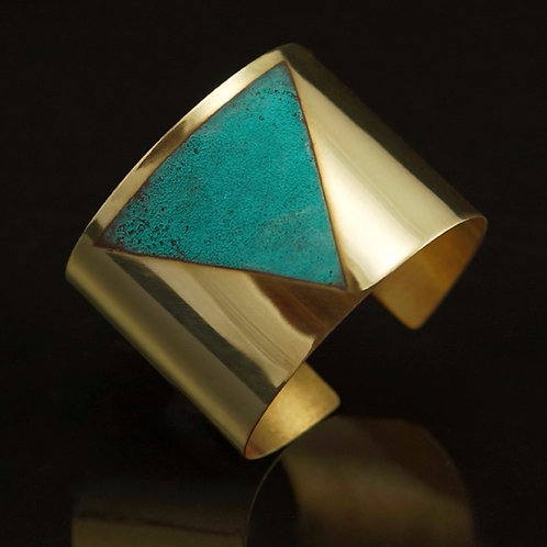 Tiangulum Cuff | Modern Artifacts | Handmade Jewelry | Houston TX | Modern