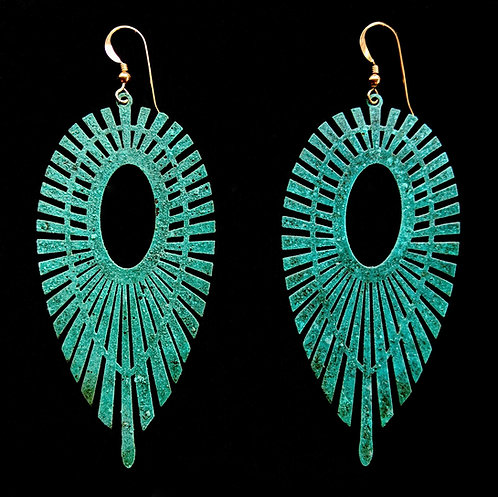Thunderbird Feather Earrings