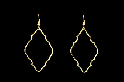 Arabesque Earrings | Modern Artifacts | Handmade Jewelry | Moroccan | HTX | Boho