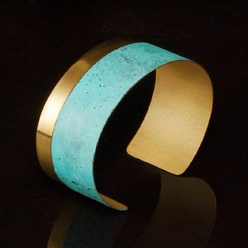 Patina Linea Cuff | Modern Artifacts | Handmade Jewelry | Houston TX | Modern