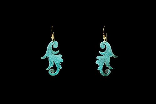 Acanthus Scroll Earrings