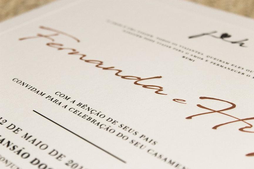 Convites de Casamento em Brasília