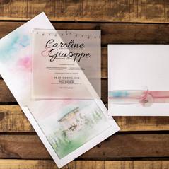 Caroline e Giuseppe