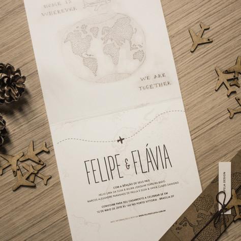 Flávia e Felipe