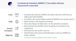 Ref AMDEC