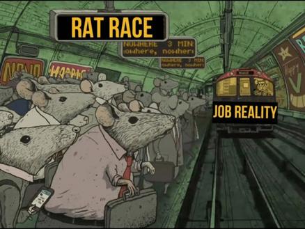 Demain c'est retour à la rat race