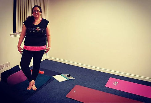 Ready for #peachyyoga class in #alloa #f