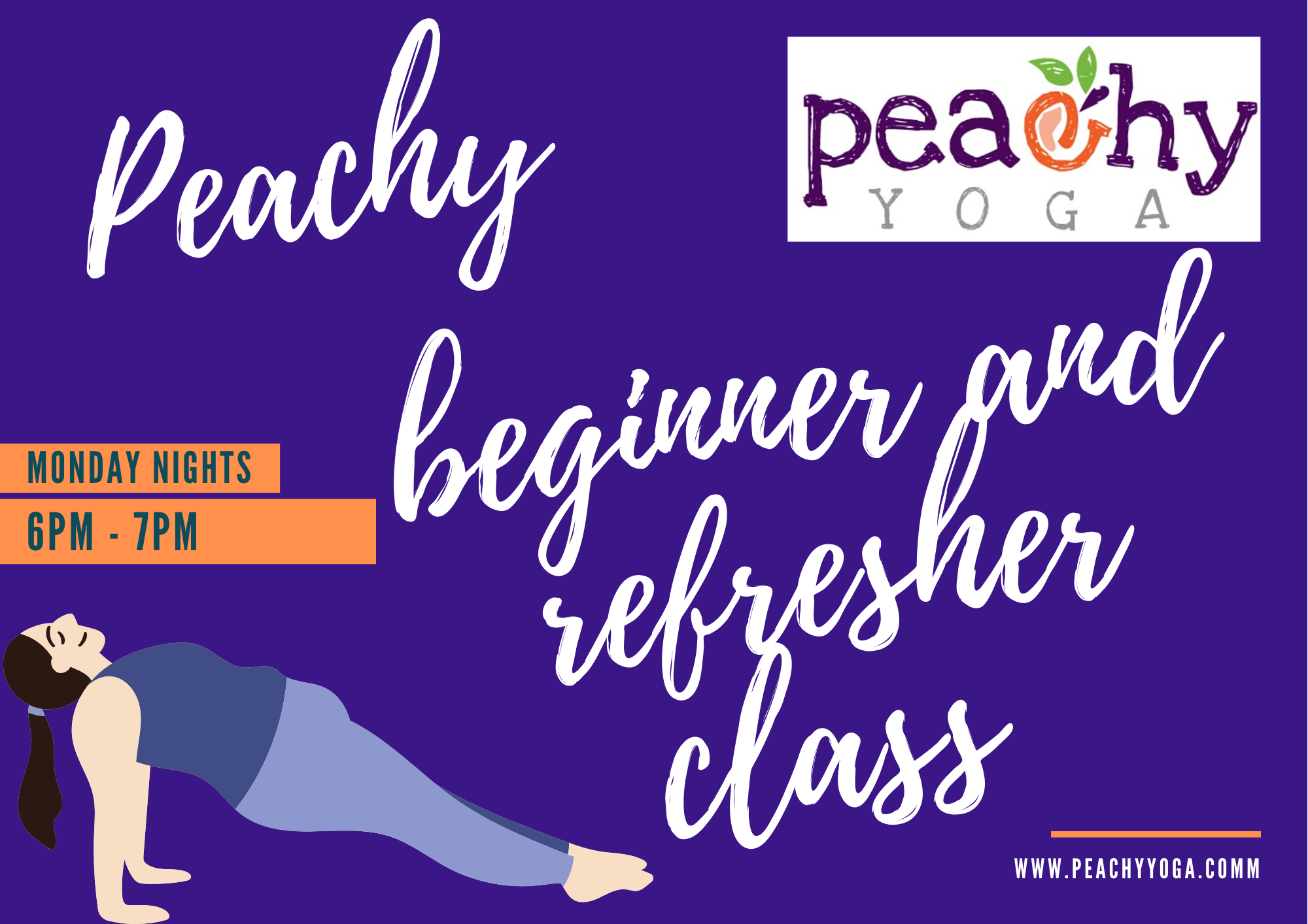 Peachy Beginner and Refresher Class