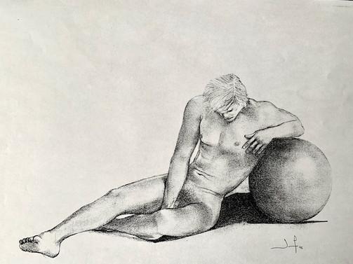 L'homme et la sphère