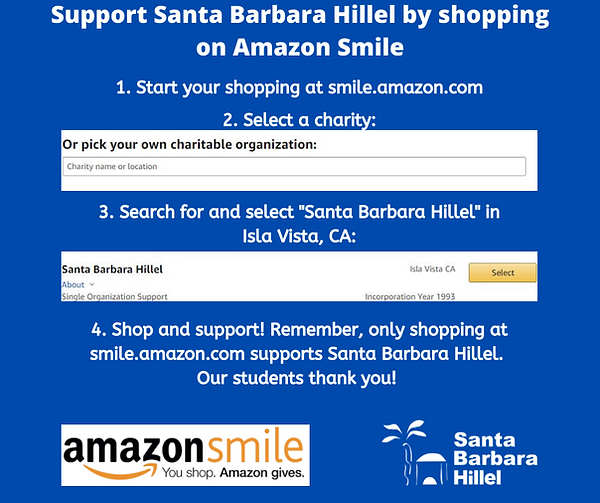 Facebook-  Support Santa Barbara Hillel