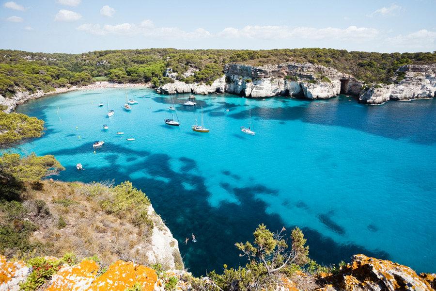 Schönste Strände am Mittelmeer - Menorca, Cala Macarella