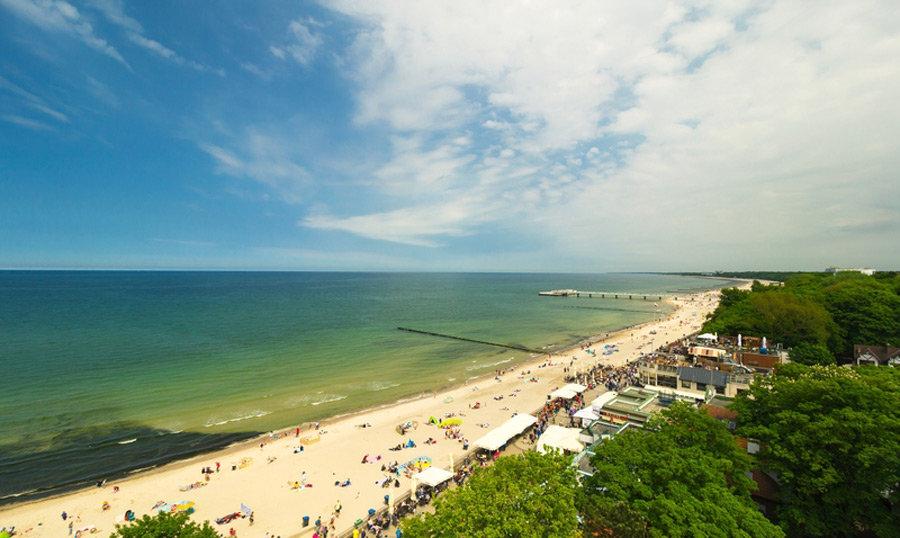 Schönste Strände an der Ostsee - Kolobrzg