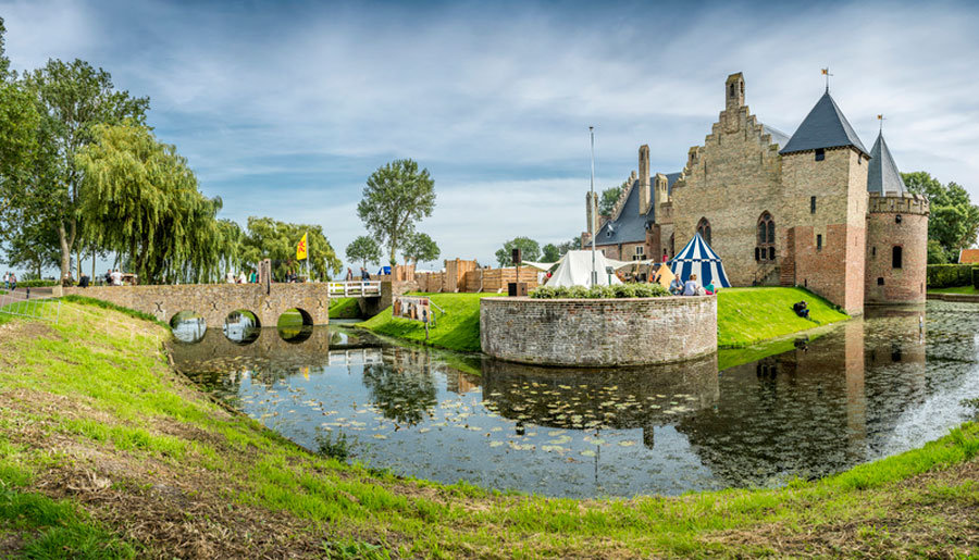 Familienurlaub Nordholland - Burg Radboud