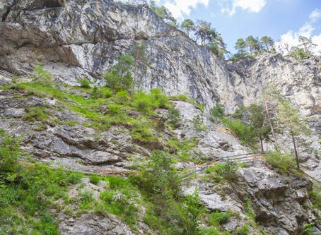 Rosengartenschlucht – spektakuläre Klamm in den Lechtaler Alpen