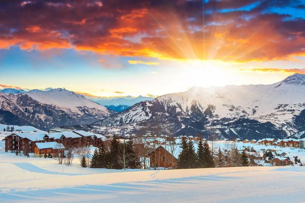 Silvester in den Alpen – französische Alpen