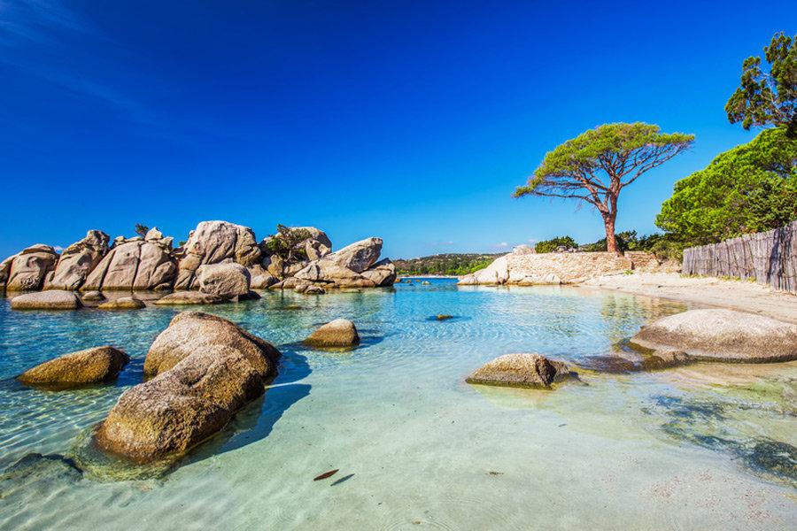 Schönste Strände am Mittelmeer - Korsika, Palombaggia