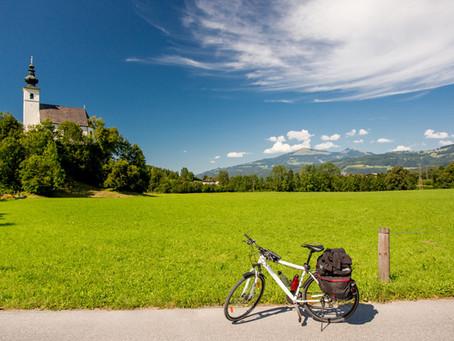 Alpe-Adria-Radweg – Genussradeln vor einem grandiosen Alpenpanorama