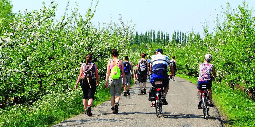 Egmond aan Zee - Radfahren und Wandern in Holland