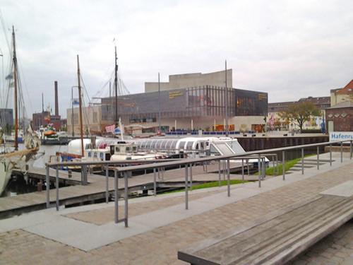 Auswandererhaus Bremerhaven - der neue Hafen