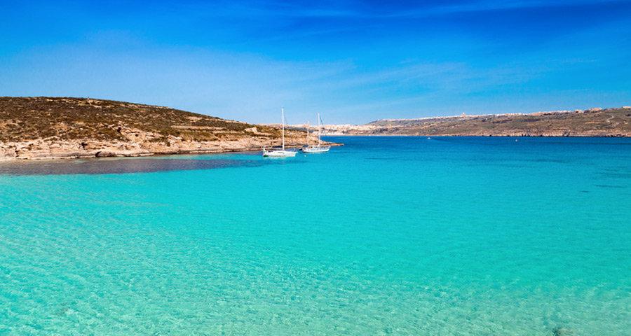 Schönste Strände am Mittelmeer - Comino, Blaue Lagune