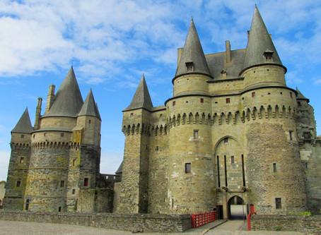 Schloss Vitré - Mittelalterromantik in der Bretagne