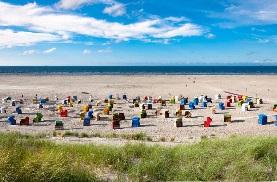 Schönste Strände an der Nordsee - Juist
