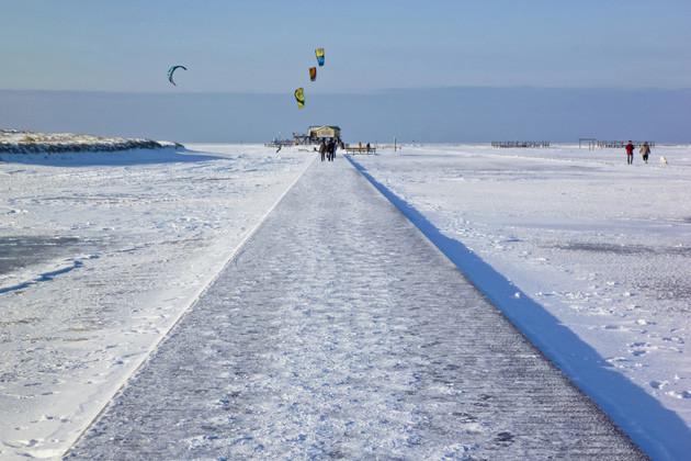 Winterurlaub an der Nordsee - Sankt Peter Ording