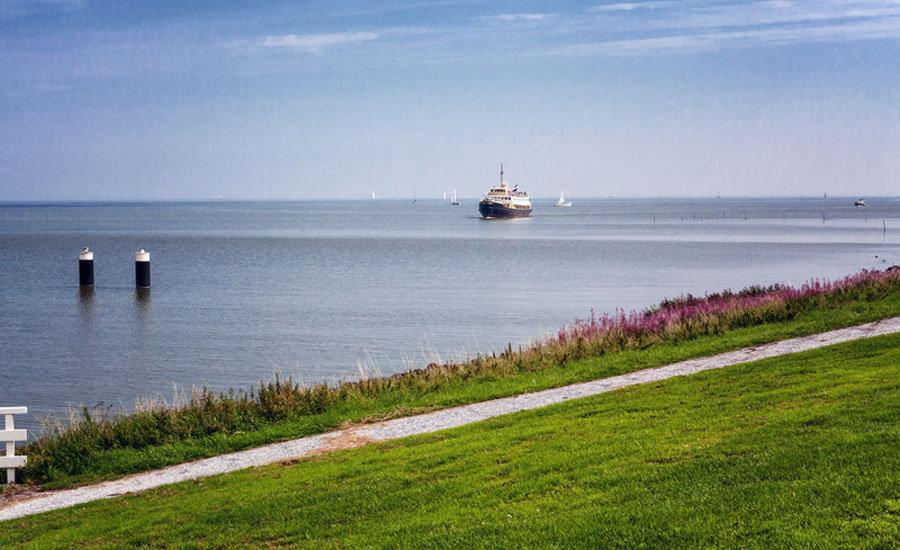 Familienurlaub Nordholland - Fährschiff IJsselmeer