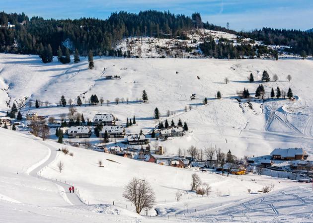 Wintersport Schwarzwald - Todtnauberg