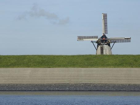Texeler Windmühle De Traanroeier: Historisches Monument aus dem 18. Jahrhundert