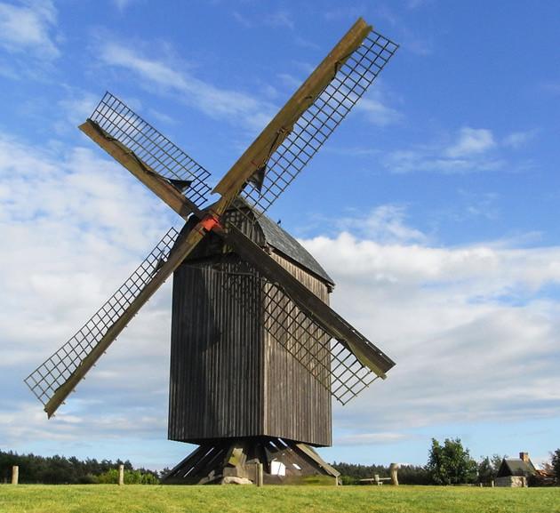 Windmühle bei Pudagla