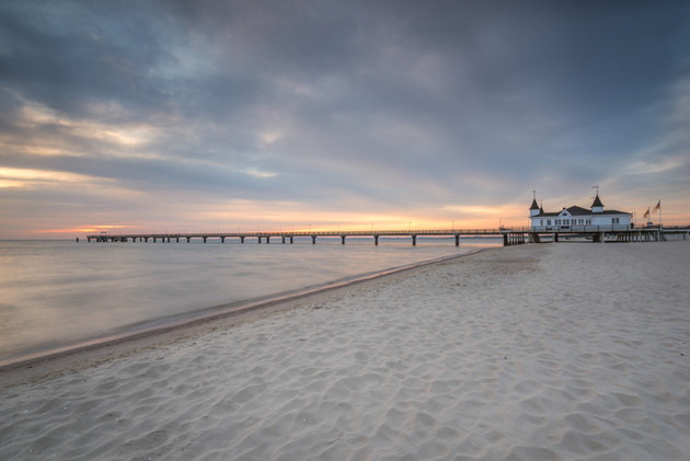 Usedom - Pier in Ahlbeck