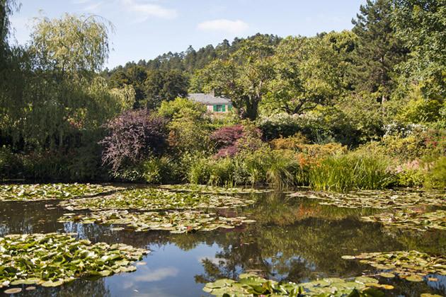 Parks und Gärten in der Normanie