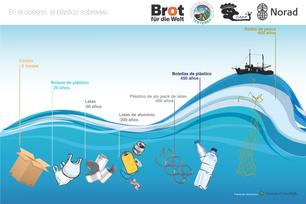 En el océano, el plástico sobrevive: