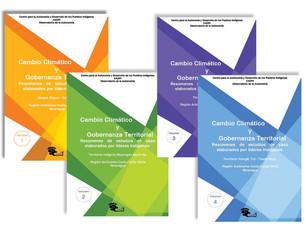 Publicaciones: Cambio Climático y  Gobernanza Territorial