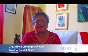 Mensaje de la Dra. Mirna Cunningham, Kain, Presidenta del Fondo Internacional para el Desarrollo de