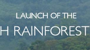 Launch of The Interfaith Rainforest Initiative.