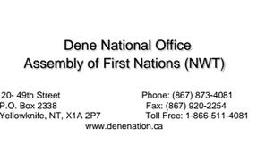 Insulting remark by President Trump sparks response from Dene Nation