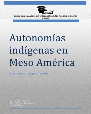 Autonomías indígenas en Meso América.