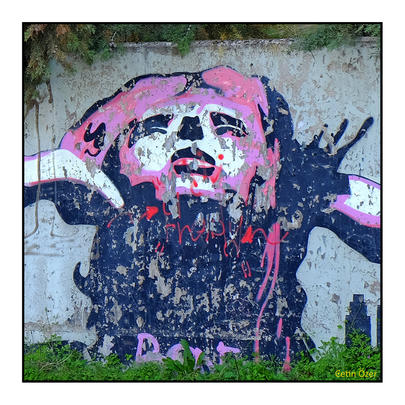 'Duvarların dili', Serisi 60x60cm 2019 Fotograf baskı