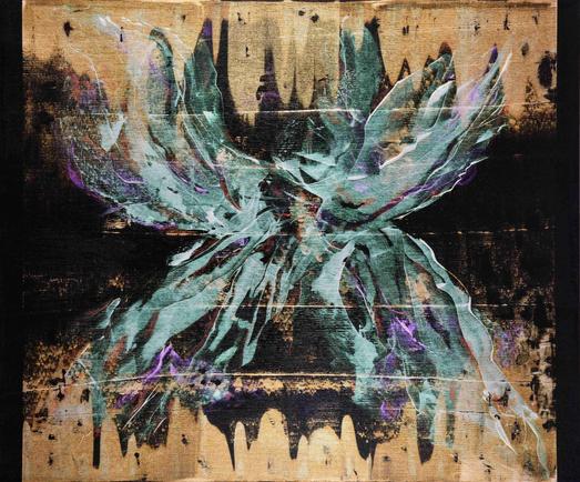 'İsimsiz 3', 100x120cm 2020 Tuval üzerine akrilik boya
