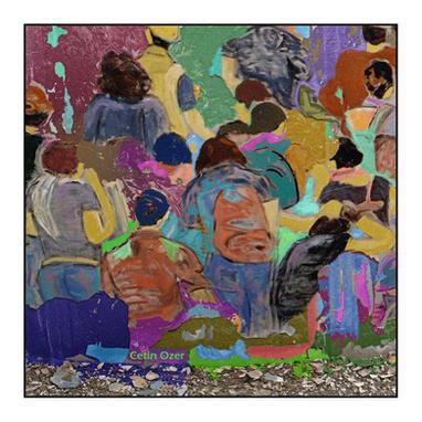 'Duvarların dili', 60x60cm. 2018 Fotoğraf baskı